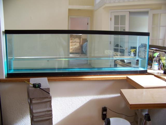 Tank in Place and Holding Water