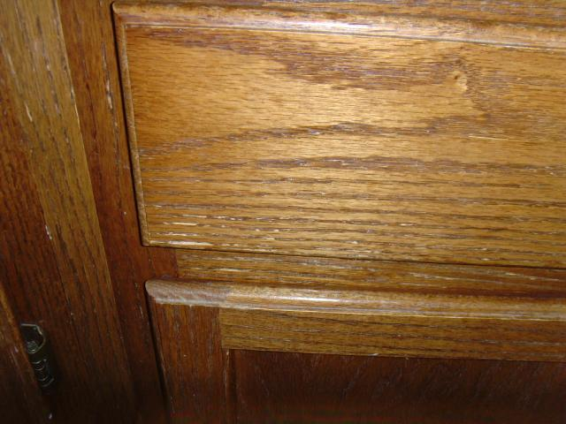 Drawer near sink.